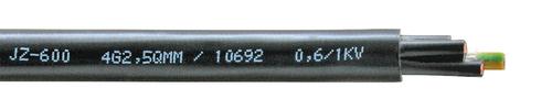 YSLY-JZ 600 50X0,75 0,6/1 kV SW